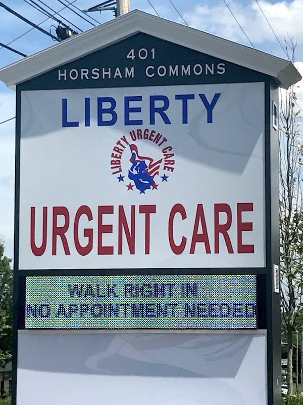 liberty urgent care in horsham