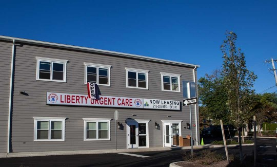 Liberty Urgent Care building