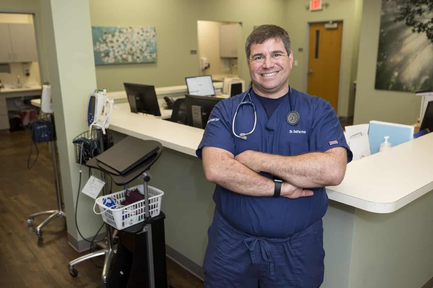 Liberty Urgent Care Dr. Erik Soiferman discussing COVID-19 changes