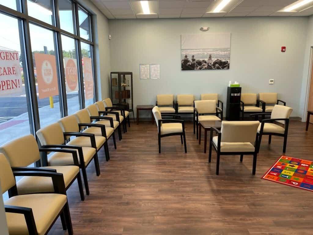 Liberty Urgent Care Hatfield Waiting Room